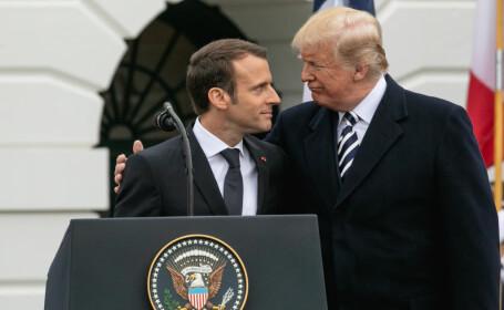 """Emmanuel Macron: """"Europa nu trebuie să depindă de SUA pentru securitate"""""""