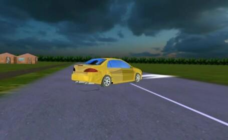 accident teleorman animatie