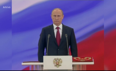 Vladimir Putin îşi începe, luni, al patrulea mandat de preşedinte