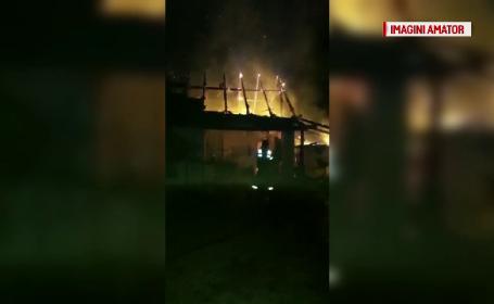 Incendiu in Timis