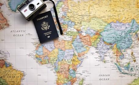 Pasaport, harta, calatorii