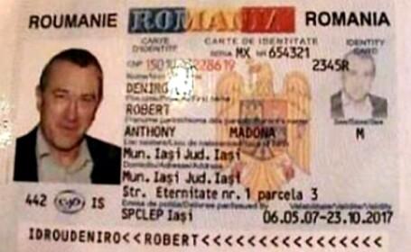 Un bărbat din Iași a falsificat buletinul lui Robert de Niro. Ce pedeapsă a primit