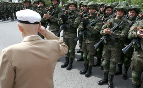 Paradă militară grandioasă în Rusia, de Ziua Victoriei
