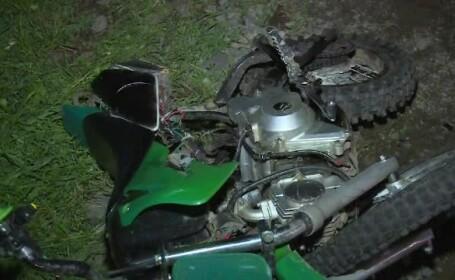 motocicleta accident