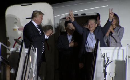 Detinuti americani in Coreea de Nord