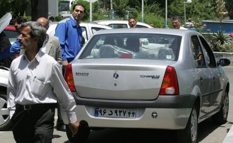 Renault Tondar pe strazile din Iran