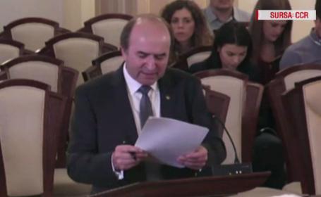 Dezbaterile de la CCR în cazul Kovesi, amânate. Contre între Toader și consiliera lui Iohannis