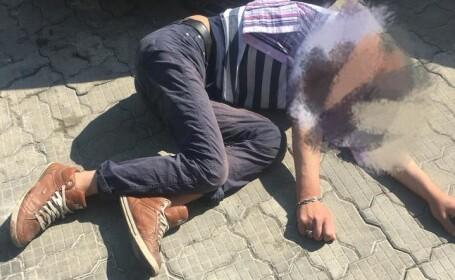 Barbat lesinat in Bucuresti
