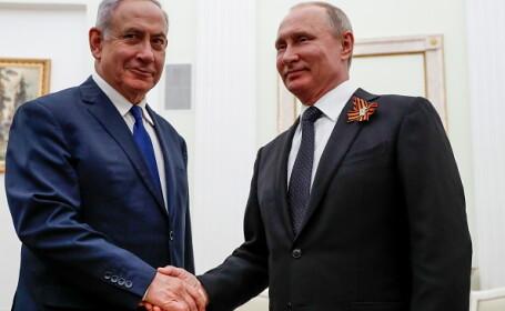 vladimir putin, rusia, siria, Benjamin Netanyahu