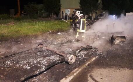 incendiu director AJOFM Arad