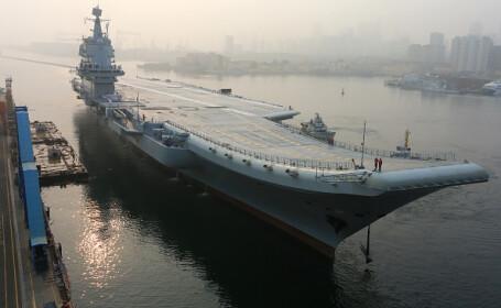 china, primul portavion, teste,