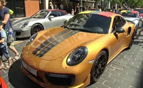 Porsche, lituania, parada,