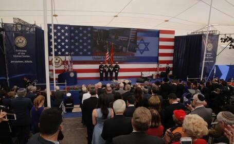 ceremonie inaugurare ambasada SUA la Ierusalim