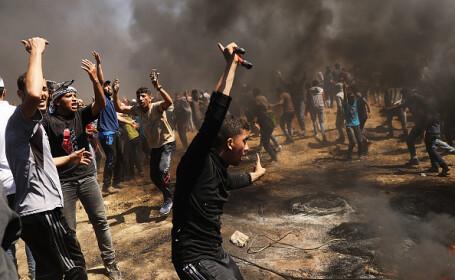 Ciocniri în Gaza, după inaugurarea ambasadei SUA în Ierusalim