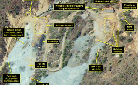 Imagini satelit Coreea de Nord - 2
