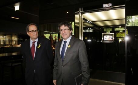 Şeful executivului Cataloniei şi premierul Spaniei s-ar putea întâlni în curând