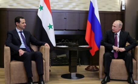 vladimir putin bashar al-assad