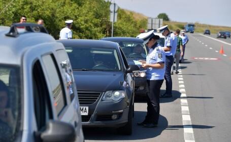Actiune de verificare si control a traficului organizata pe DN5
