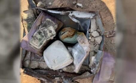 Un american a găsit un seif îngropat în curte, iar înăuntru se afla o avere