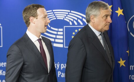 Mark Zuckerberg si Antonio Tajani