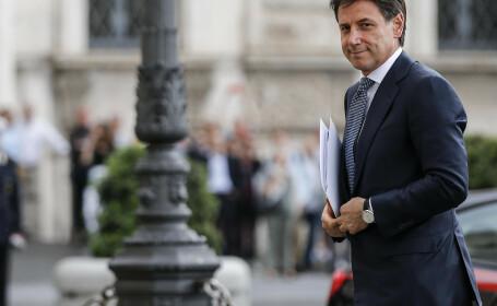 Giuseppe Conte, premierul desemnat în Italia, renunţă la formarea guvernului