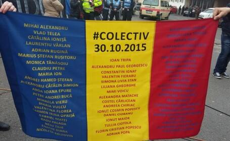 """5 ani de la tragedia din Colectiv: """"Bătaie de joc la adresa familiilor celor 65 de victime"""""""