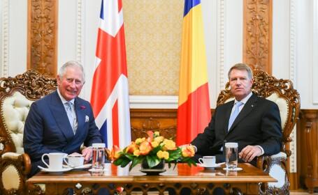 Klaus Iohannis a fost invitat la Buckingham, cu ocazia aniversării prinţului Charles