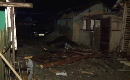 Dezastrul lăsat în urmă de tornada din Călăraşi. A nimicit un sat în cateva minute