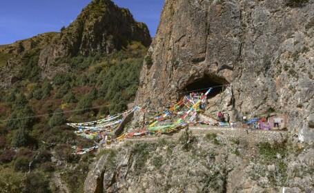 Peştera Baishiya din Tibet