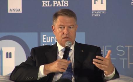 """Klaus Iohannis, avertisment despre viitorul UE: """"Dacă nu luăm măsuri, vom pierde totul"""""""