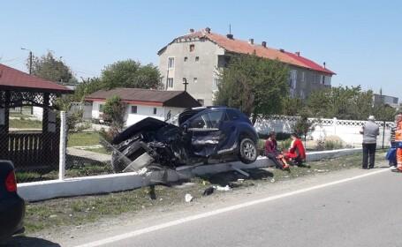 Şase răniți într-un accident cu patru mașini, în Constanța. VIDEO