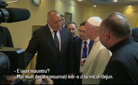 Papa Francisc si Boiko Borisov