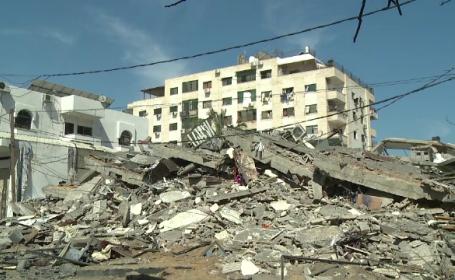 Ciocniri violente în Fâşia Gaza. Mai multe explozii, în zone locuite de palestinieni