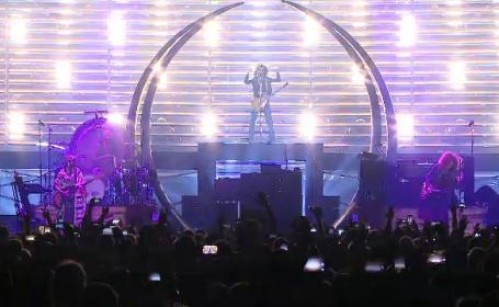 Lenny Kravitz, din nou în România după 11. Spectacolul electrizant a adunat mii de fani