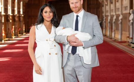 Bebelusul lui Harry și Meghan