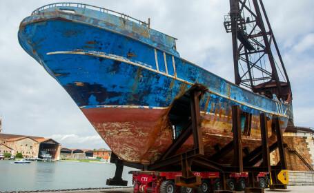 Barca pe care au murit sute de oameni. Descoperirea făcută în interiorul epavei