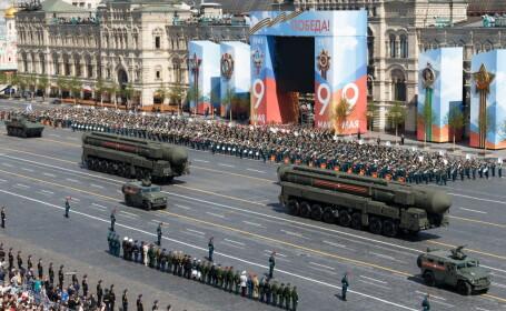 Paradă de Ziua Victoriei, la Moscova. Armata rusă şi-a etalat armele de ultimă generație