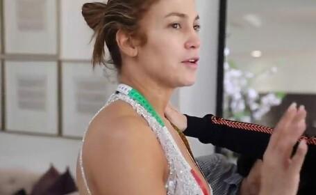 Momentul în care J. Lo se ceartă cu logodnicul său în culisele Galei MET - 1