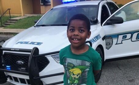 """Motivul inedit pentru care un copil de 6 ani a sunat la poliție. """"E un lucru pozitiv"""". FOTO"""
