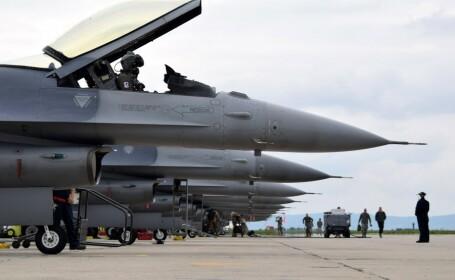 SUA au trimis 10 avioane de luptă în România
