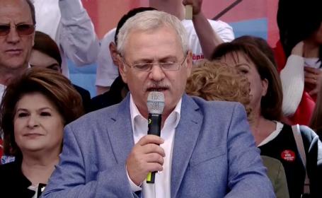 """Dragnea, la mitingul PSD: """"Un grup de bătăuşi umblă după noi în ţară"""""""
