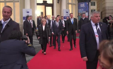 Iohannis: Premierii socialişti s-au întâlnit la Sibiu. PSD nu a fost invitat