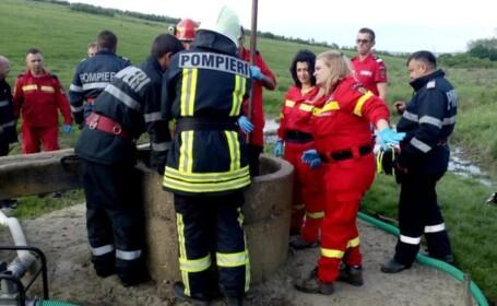 Un copil de 7 ani a murit după ce a căzut într-o fântână, în Sălaj