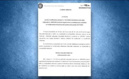 Andronescu, despre modificarea admiterii la liceu