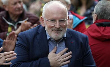 Candidatura lui Timmermans la șefia CE scindează Europa de Est. Negocierile continuă