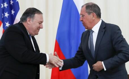 Pompeo si Lavrov