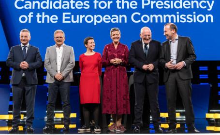Candatii pentru sefia Comisiei Europene