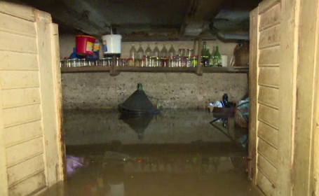 inundații Bistrița