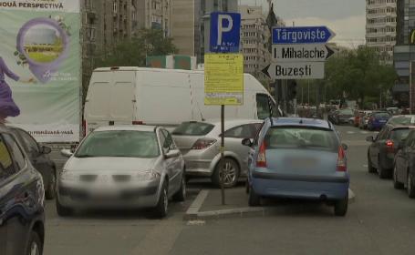 Parcările cu plată din Capitală, aproape goale. De ce se feresc șoferii