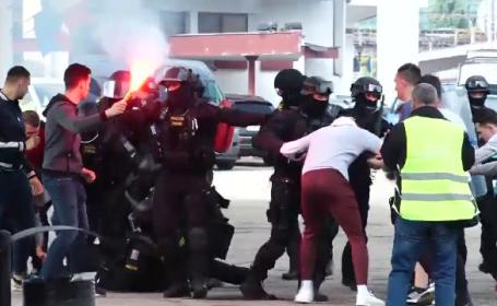 Scenarii de posibile atentate, în gara din Cluj Napoca. Exercițiu amplu de pregătire